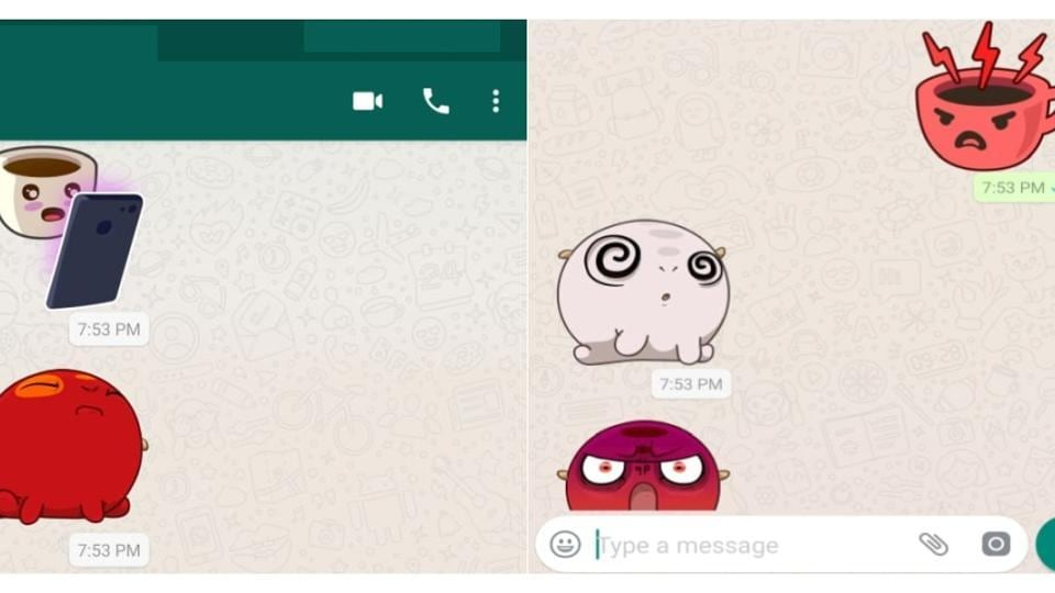 WhatsApp Sticker update:Here's a step by step guide how to