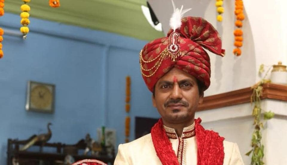 Nawazuddin Siddiqui's first look from his upcoming film Motichoor Chaknachoor was released on Thursday.