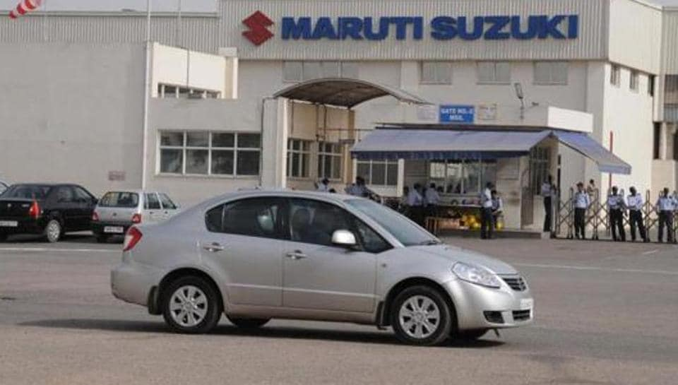 Maruti's net profit fell to Rs 22.40 billion for the quarter ended September 30, versus Rs 24.84 billion a year earlier.