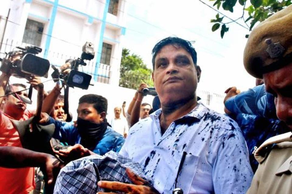 The main accused in the Muzaffarpur shelter home case, Brajesh Thakur
