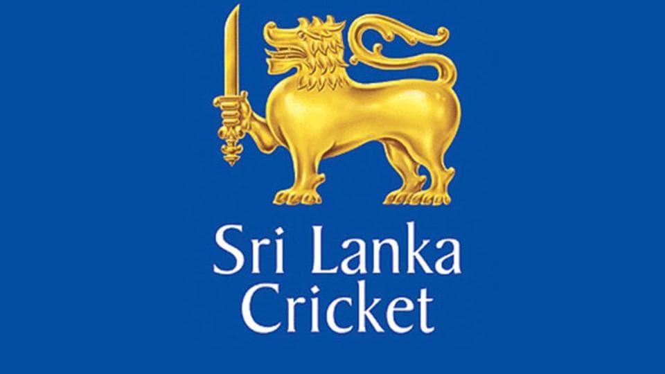 Logo of the Sri Lankan cricket association.