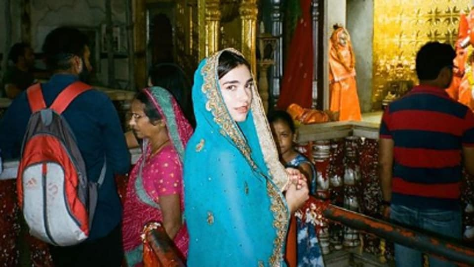 Dua Lipa has been on an India vacation for two weeks.