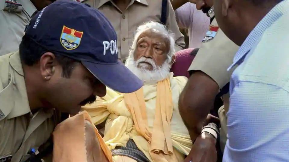 Guru Das Agarwal,Ganga activist,scientist-turned-seer