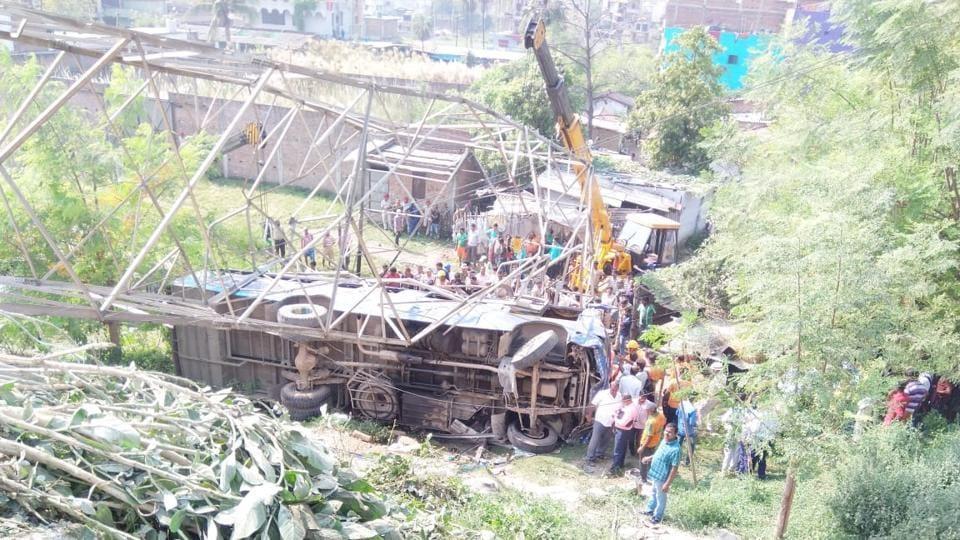Patna bus accident,Darbhanga,Mithapur bus stand