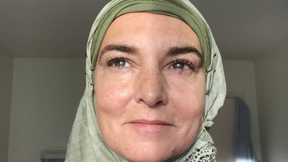 Sinead O'Connor has been sharing pictures of herself in hijabs recently.