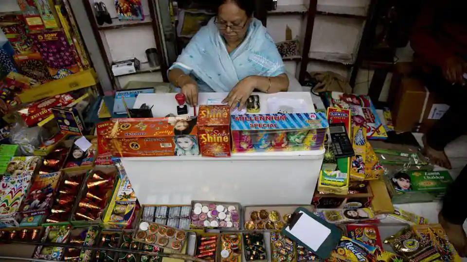 Patiala,sale of crackers,Diwali