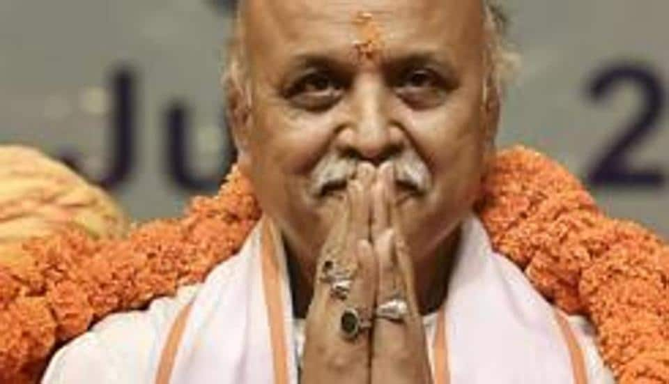Pravin Togadia, now the president of the Antarrashtriya Hindu Parishad (AHP), and the head of an as-yet unnamed political party, is making all efforts to project himself as the torch-bearer of the Ram Mandir in Uttar Pradesh.