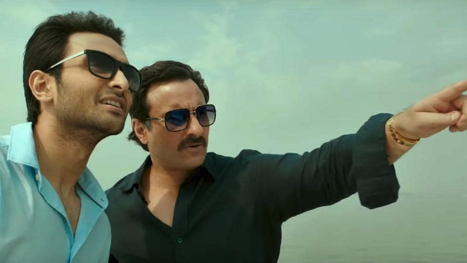 Baazaar movie review: Despite Saif Ali Khan maintains a fine gruffness in the film.