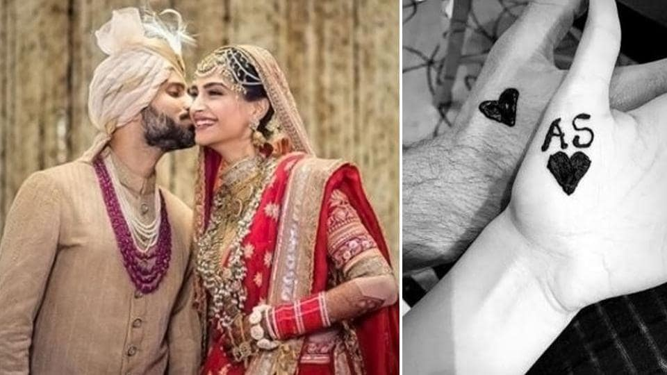 Sonam Kapoor and Anand Ahuja's first Karwa Chauth celebrations after their wedding is full of love.