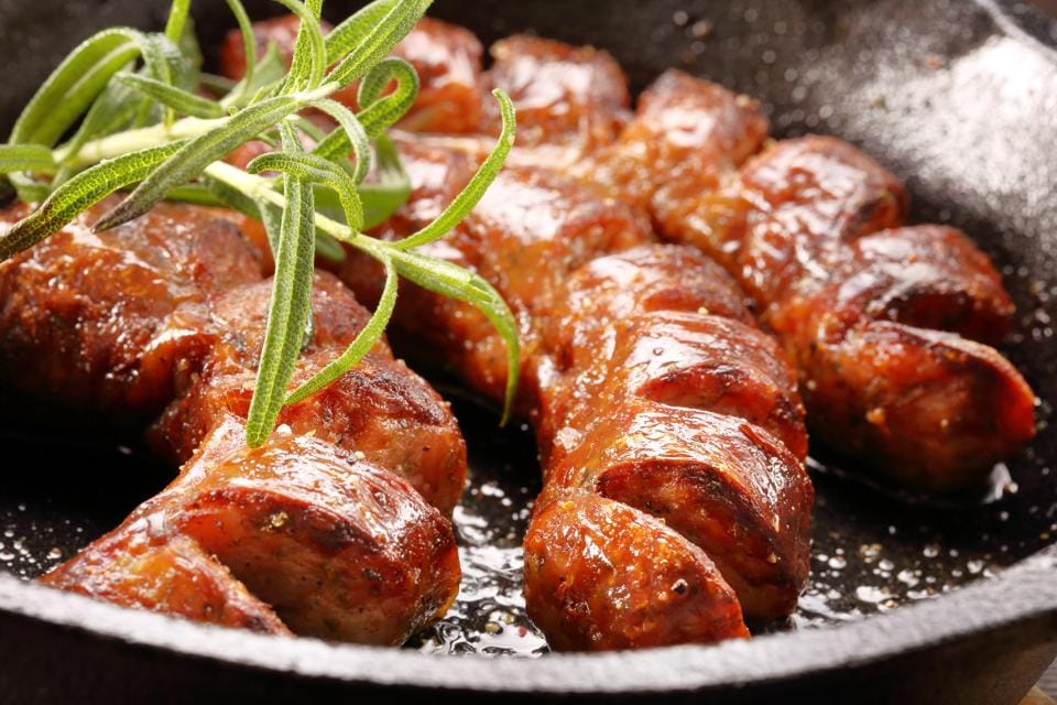 """""""Wet"""" sausages need to be cooked, either in a frying pan or grilled"""