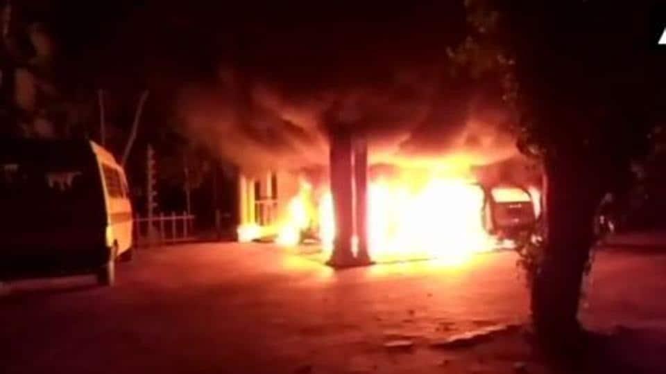 Kerala,Sabarimala,Ashram attacked