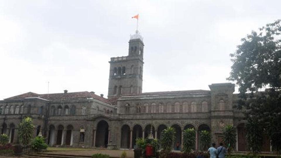 Main building of the Savitribai Phule Pune University (SPPU) in Pune.