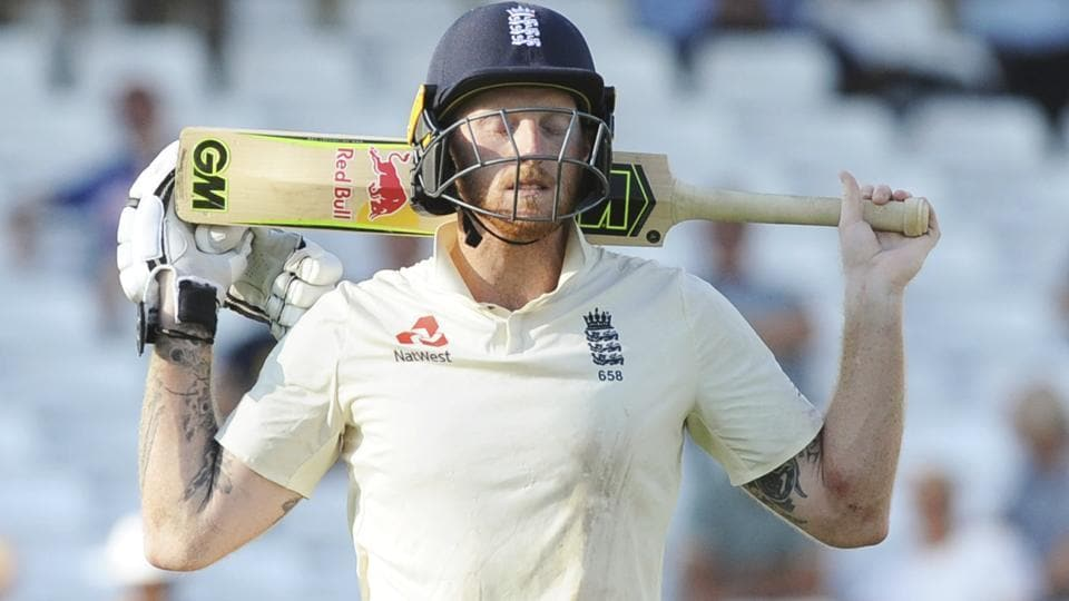 File image of Ben Stokes in action for England during a Test match.