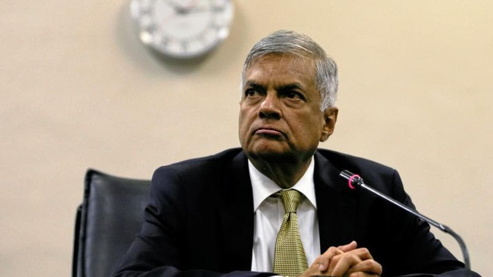 Sacked Sri Lankan prime minister Ranil Wickremesinghe on Saturday demanded the parliament speaker call an emergency session so he can prove his majority, officials said.