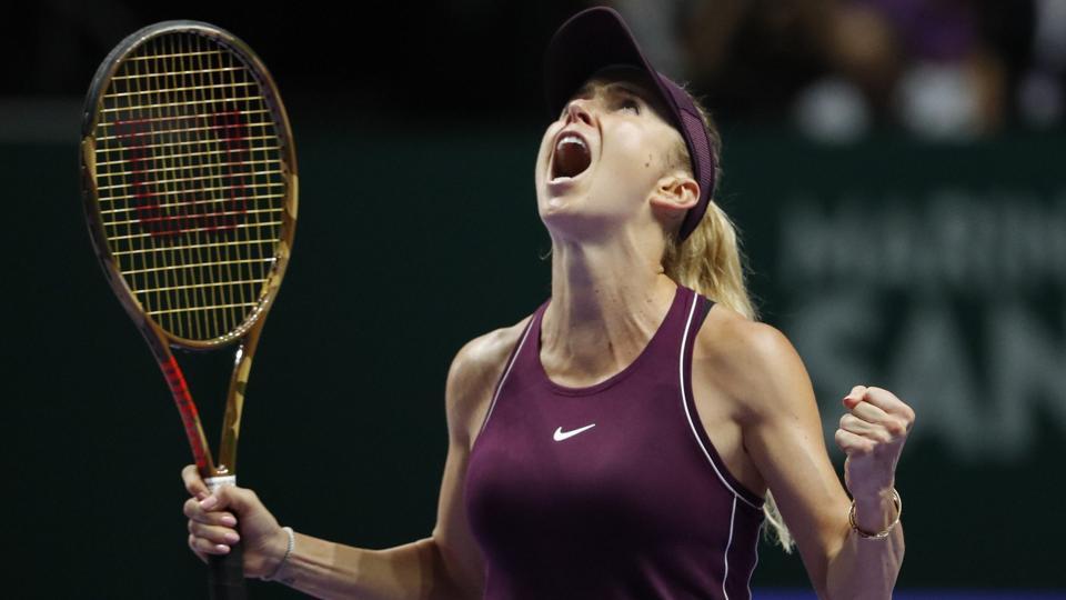 WTAFinals,Elina Svitolina,Kiki Bertens