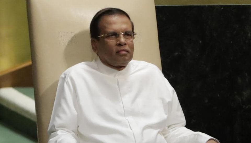 Sri Lanka,Sirisena,Maithripala Sirisena