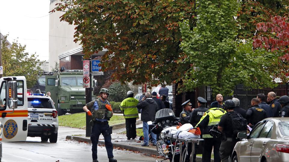 At Least 8 Killed In Shooting Pittsburgh Synagogue Suspect Custody
