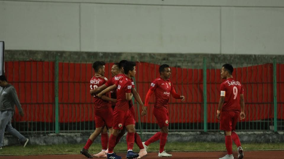 Shillong Lajong side fielded  no foreigners and played as many as nine U-22 players in the starting XI,