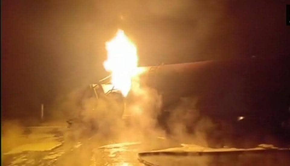 LPG tanker explosion,Tanker explosion,Mathura tanker explosion