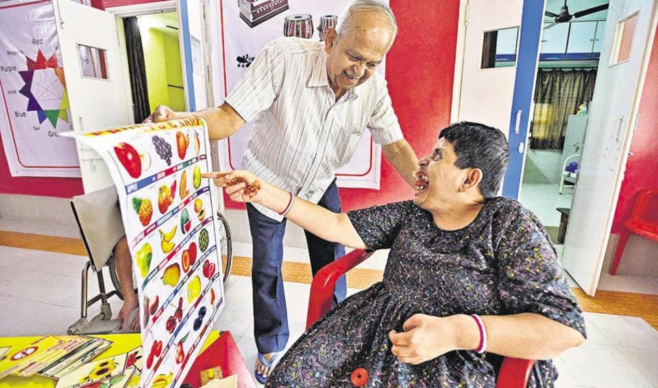 Pune,mentally challenged,cerebral palsy