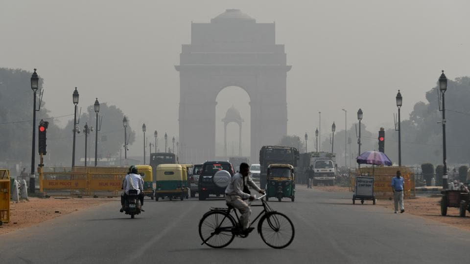 The overall air quality index of Delhi was recorded at 381 which falls in the very poor category, the highest of this season and just points below severe pollution level, according to data by the Central Pollution Control Board.