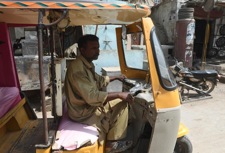 Pakistani rickshaw driver Mohammad Rasheed is just the latest victim of a money laundering scheme that Pakistan's new prime minister Imran Khan has vowed to crush.
