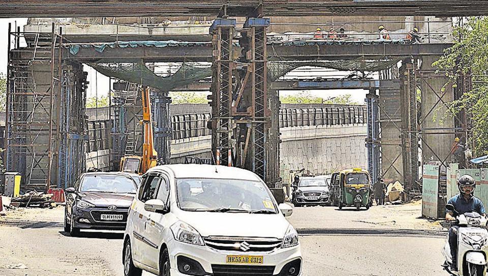 Delhi: New RTR flyover to miss December deadline in 5th delay