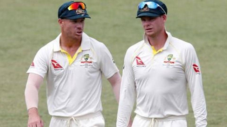 David Warner (L) and Steve Smith's punishment was termed harsh by The Australian Cricketers' Association .