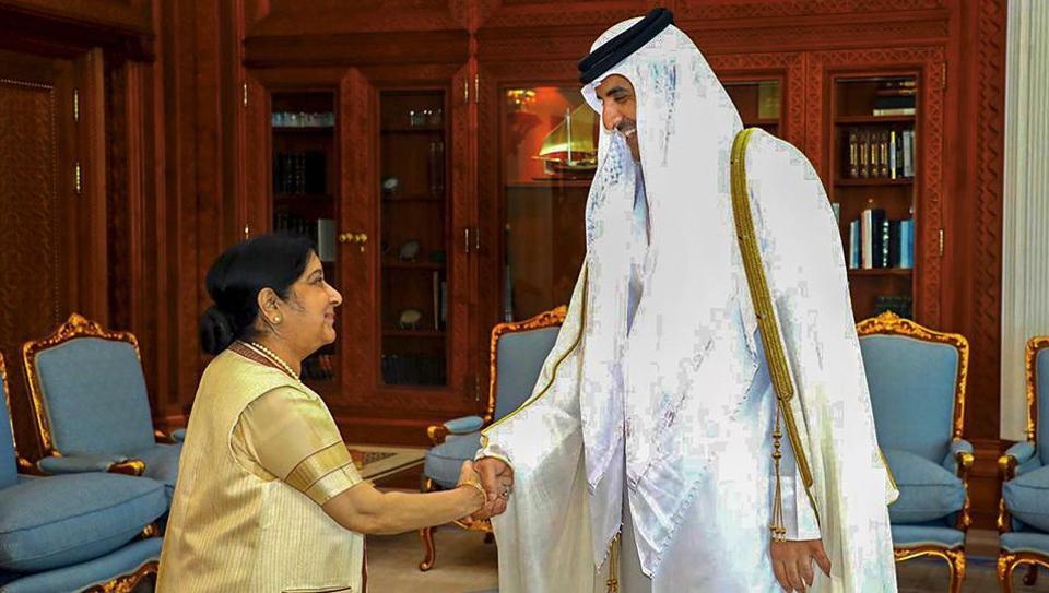 India,Qatar,Sushma Swaraj