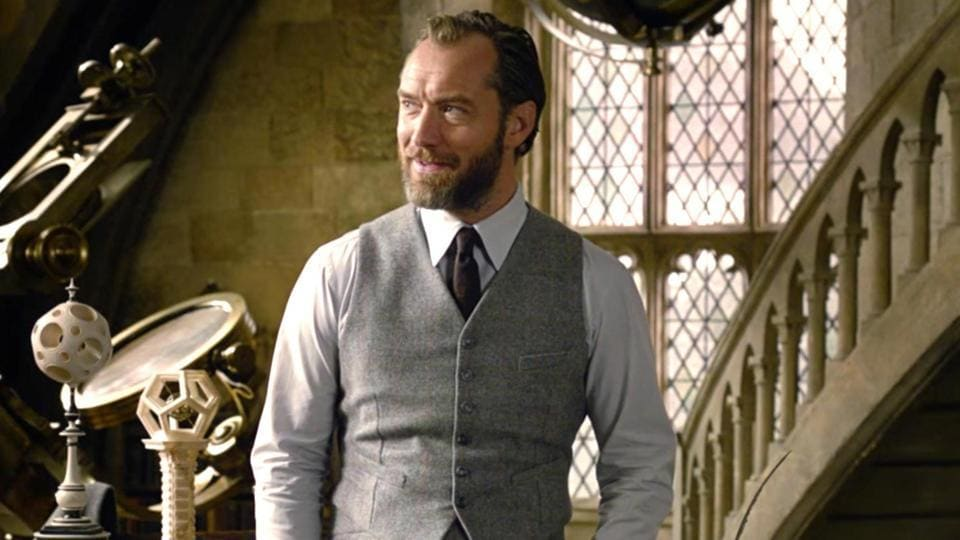 Jude Law,Albus Dumbledore,Crimes of Grindelwald
