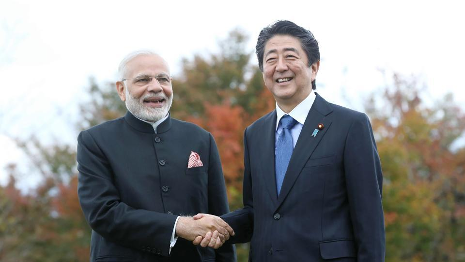 Abe and Modi build ties after Japan PM's China visit