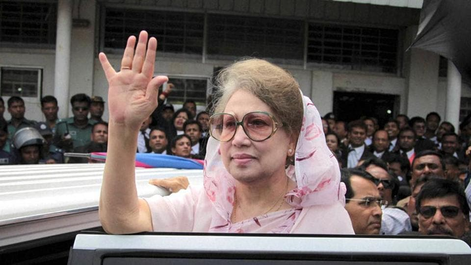 A special court in Bangladesh's capital has sentenced former Prime Minister Khaleda Zia to seven years in jail involving a charity fund named after her late husband.