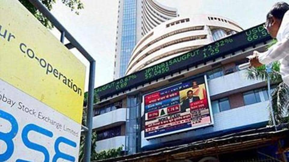 Snapping its two-day losing streak, the 30-share Sensex ended 718.09 points, or 2.15%, higher at 34,067.40.