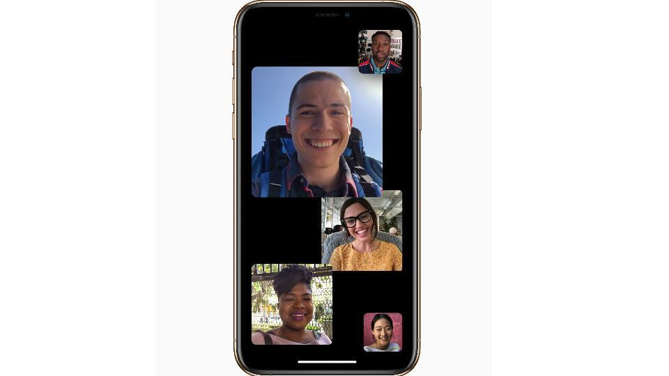 Group FaceTime on iOS 12.1 supports up to 32 people simultaneously.
