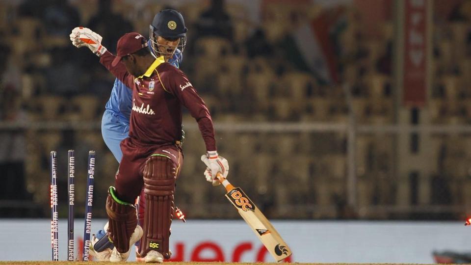 india vs west indies,4th ODI,ms dhoni