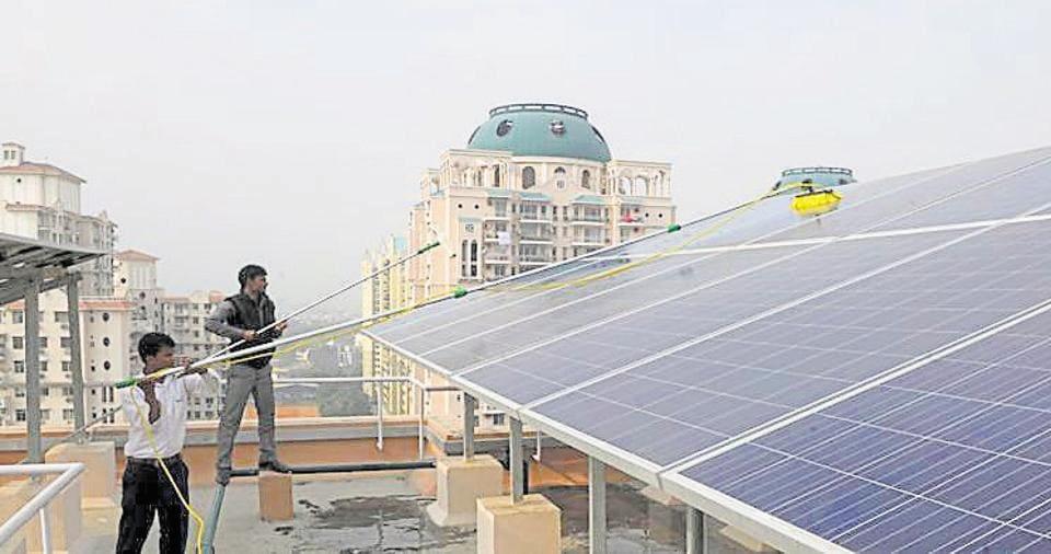 gurugram,solar power,HAREDA