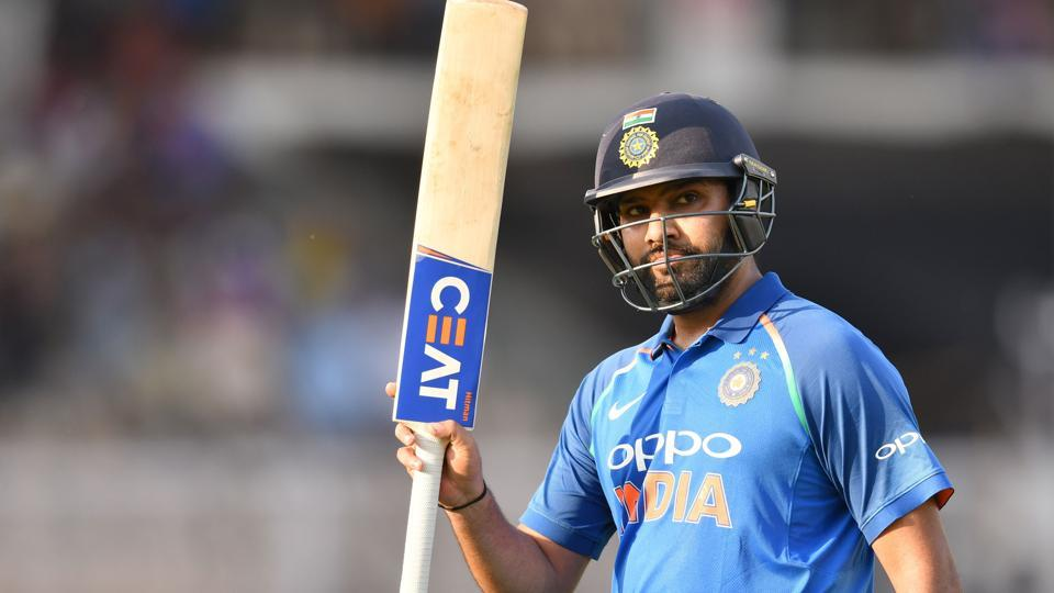 Rohit Sharma scored 162 in the 4th ODI in Mumbai