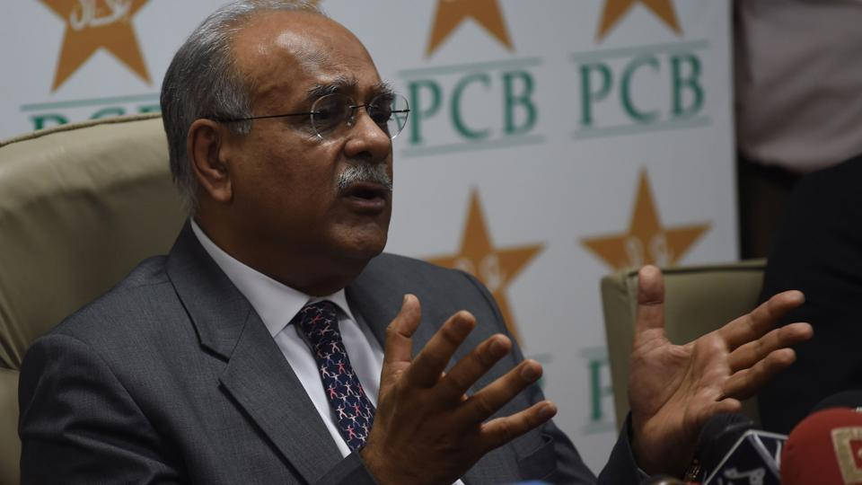 File image of former Pakistan Cricket Board (PCB) chairman Najam Sethi.