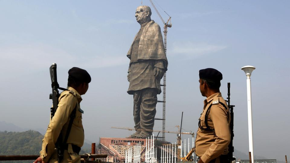 The Statue of Unity, a memorial to Sardar Patel, is scheduled to be inaugurated on October 31.