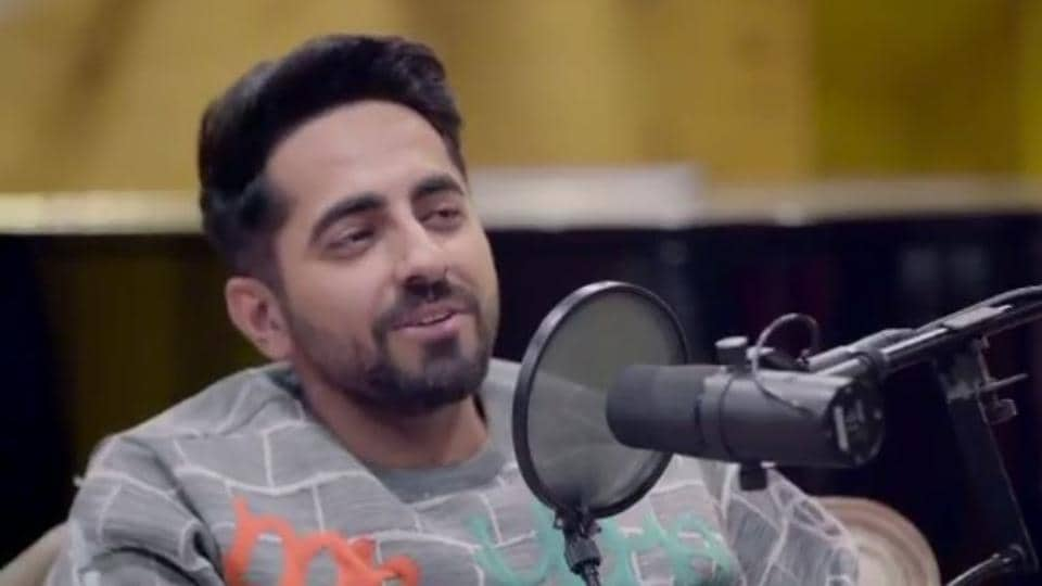 Ayushmann Khurrana  was a guest on Neha Dhupia's chat show No Filter Neha.