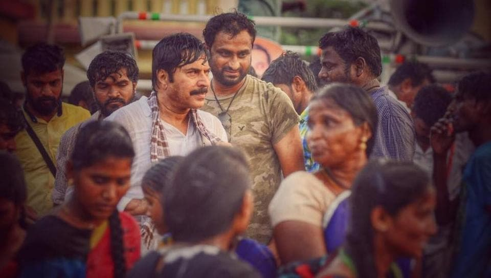 Mammootty wraps shoot for his upcoming film Yatra.
