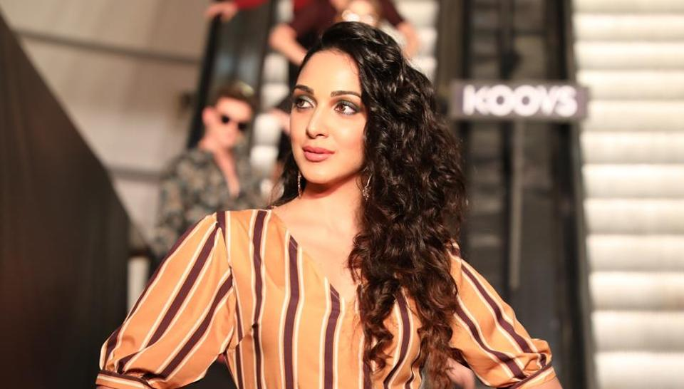 Kiara Advani in Koovs's  latest AW  collection at the store launch in Gurgaon.