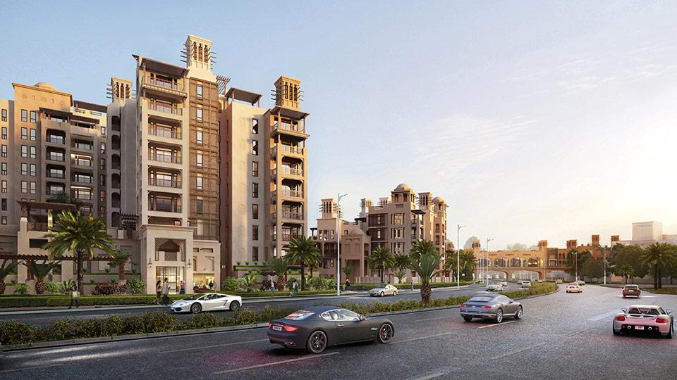 "The Madinat Jumeira Living is touted to be the ""most prestigious residential address in the city""."