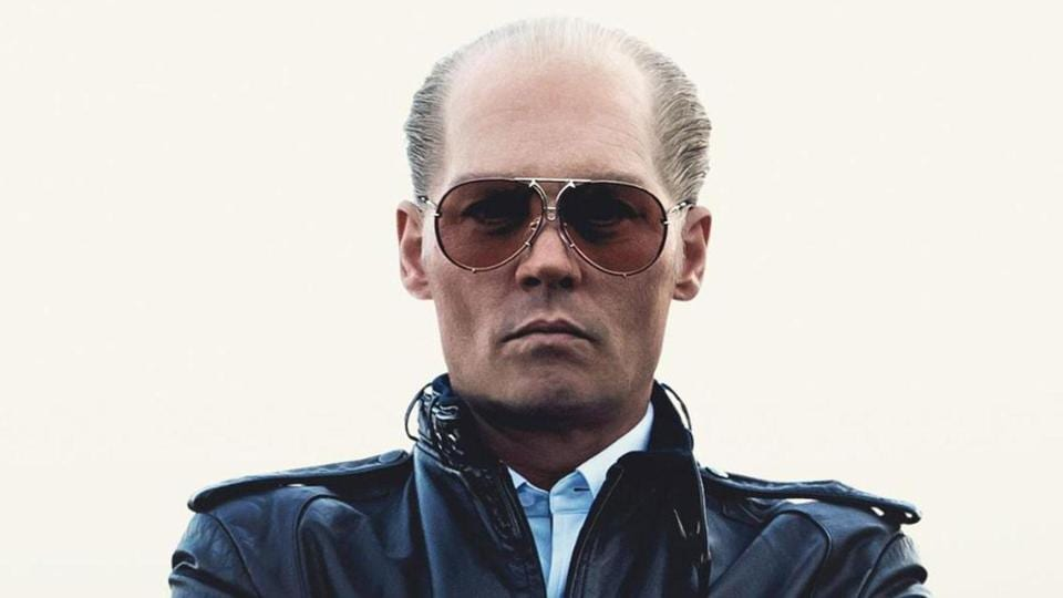Johnny Depp as James 'Whitey' Bulger in a still from Black Mass.