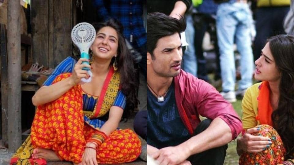 Kedarnath Behind The Scenes Pics Show All The Fun Sushant Singh