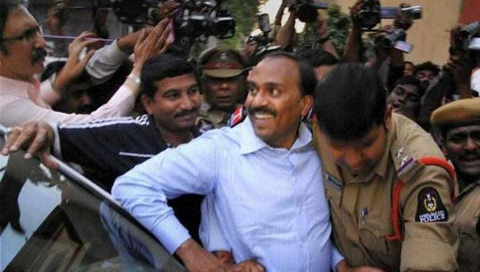 File photo of mining baron and  former Karnataka minister G Janardhana Reddy.
