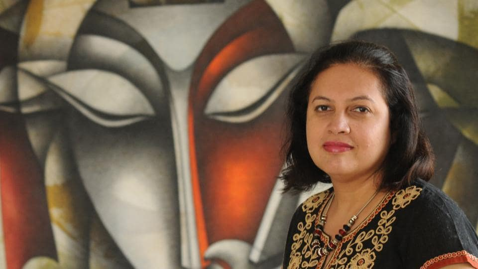 Author Kanchana Banerjee shifted to Gurugram from Mumbai three years ago. She loves the fact that the city brings together like-minded pepole.
