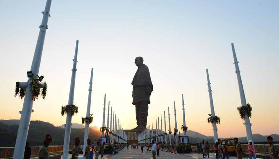 Statue of Unity,Sardar Vallabhbhai Patel,Gujarat