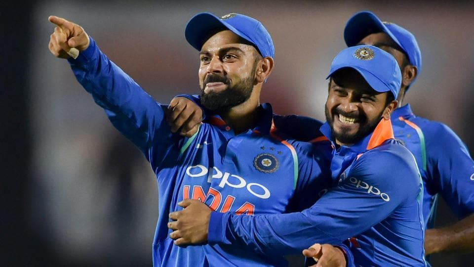India beat West Indies by 224 runs in the fourth ODI in Mumbai to take a 2-1 lead in the five game series.
