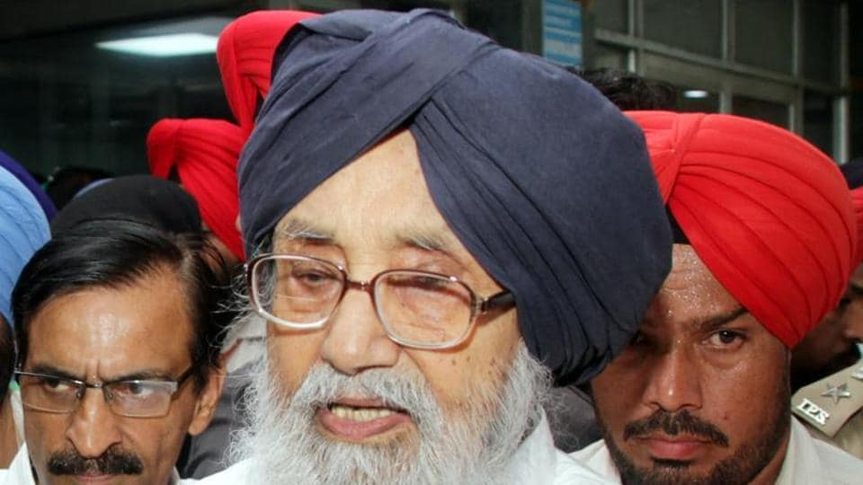 Former chief minister Prakash Singh Badal said that the facts given in class 12 history books about Sikh Gurus are sacrilegious